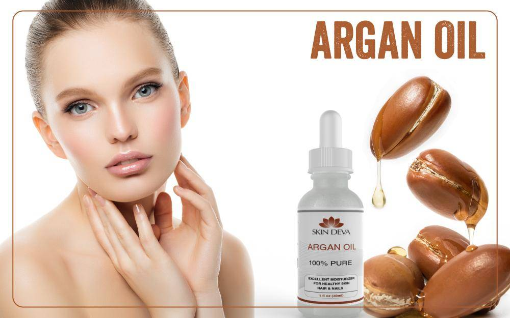 Argan oil for skin