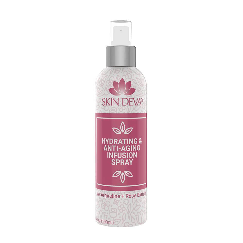 Facial Hydrating Spray with Argireline + HA & Rose Extract - rose extract Facial Hydrating Spray with Argireline