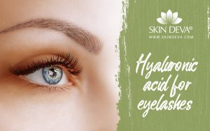 Hyaluronic Acid for eyelashes