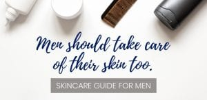 Skincare guide for men